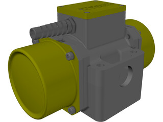 Brecon Electric Motor 3D Model