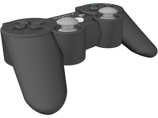 Playstation 3 Controller 3D Model