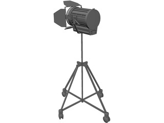 Arri Light 3D Model