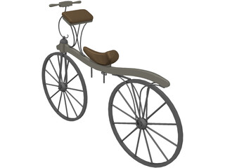 Bicycle Dennis Johnson 3D Model