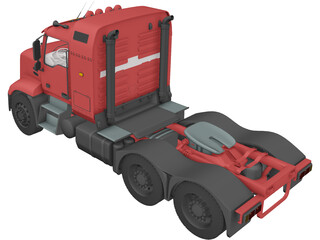 Mack Pinnacle 3D Model