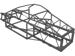 Frame Wisniewski One 1 V8 3D Model