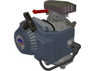 Engine Modellsport Solo 3D Model