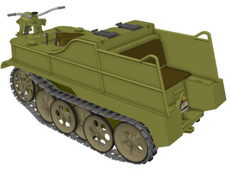 Sd Kfz 2 NSU 3D Model