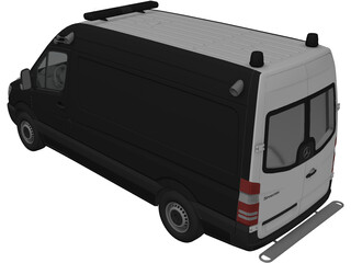 Mercedes-Benz Sprinter Ambulance 3D Model
