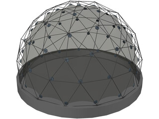 Geodatic Dome 3D Model