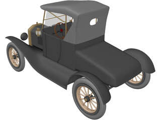 Ford T 3D Model