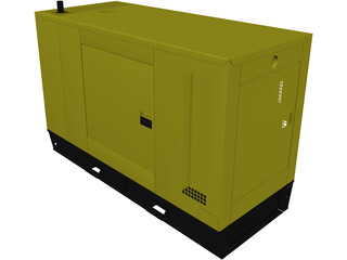 Diesel Generator Type A 3D Model