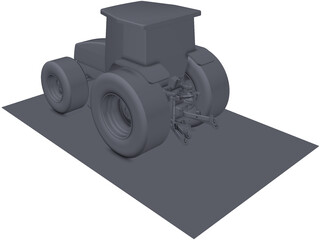 New Holland 250hp Tractor 3D Model