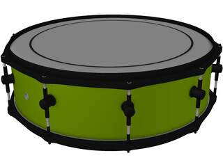 Sonor Snare Drum 3D Model