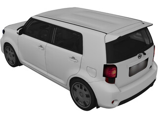 Scion xB (2013) 3D Model