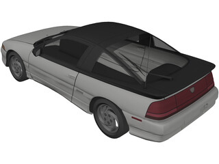 Mitsubishi/Eagle Talon  3D Model