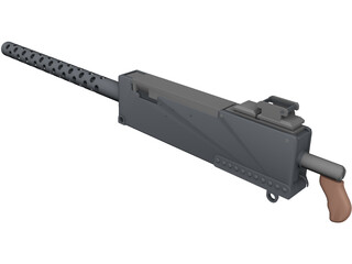 AML Browning 7.62 3D Model