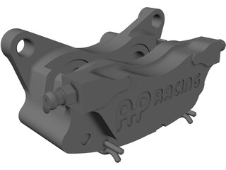 Brake Caliper AP Racing CP4227-2S0 3D Model
