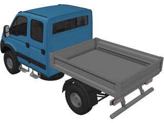 Iveco Daily 4x4 (2007) 3D Model