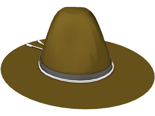 Trooper Hat 3D Model