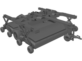 Ground Penetrating Radar (GPR) 3D Model