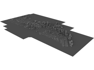City Miami (Florida) 3D Model