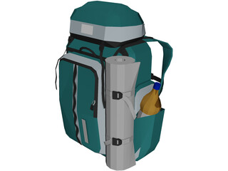 Nova Tour Bag (Large For Tourists And Outdoors) 3D Model