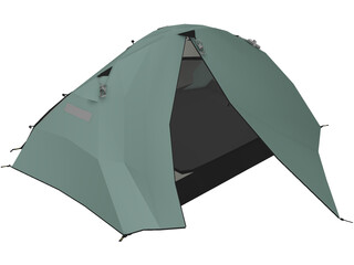 Tent (Small For Travelling And Outdoors) 3D Model