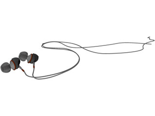 Earphones 3D Model