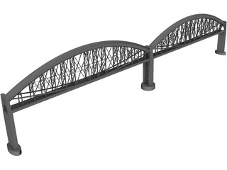 Royal Albert Bridge 3D Model