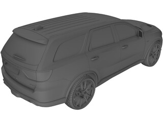 Dodge Durango SRT8 (2018) 3D Model