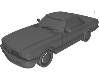 Mercedes-Benz 350SLC 3D Model