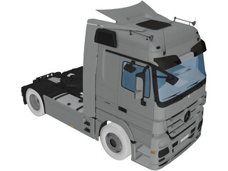 Mercedes-Benz Actros 8144 3D Model
