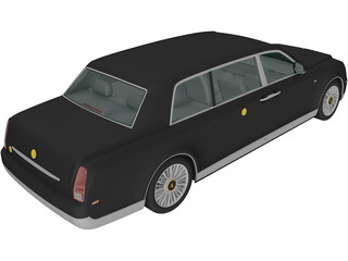 Toyota Century Royal (2006) 3D Model