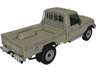 Toyota Land Cruiser [J71] 3D Model