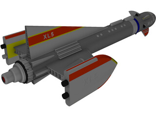 Fireball XL5 3D Model