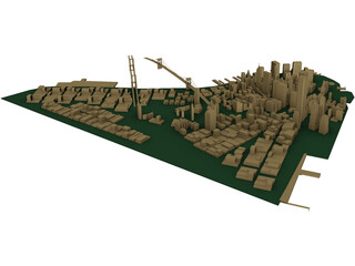 City Manhattan 3D Model