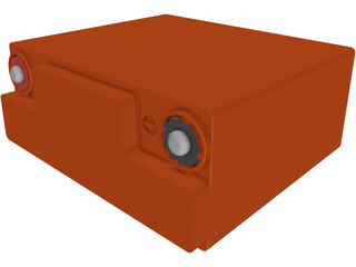 Odessey Battery 3D Model