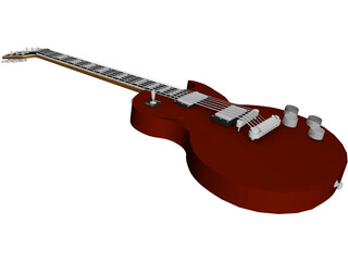 Gibson Electric Guitar Les Paul 3D Model