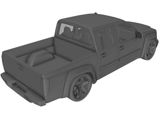 GMC Canyon (2007) 3D Model