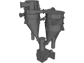 Cement Classifier 3D Model