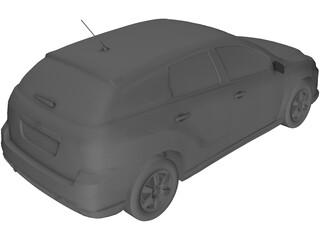 Toyota Matrix 3D Model