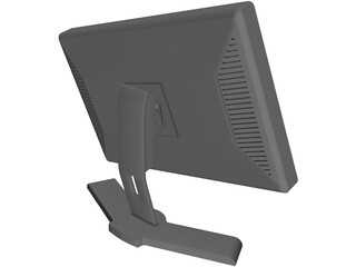 Dell 2408WFP Monitor 3D Model