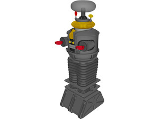 Lost In Space B-9 Robot 3D Model
