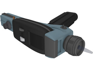 Star Trek TOS Phaser 3D Model