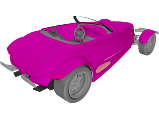Plymouth Prowler 3D Model