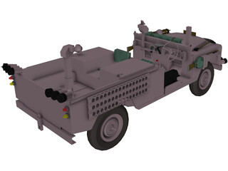 Land Rover Pink Panther 3D Model