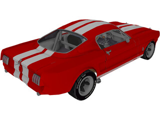 Ford Mustang Fastback (1965) 3D Model