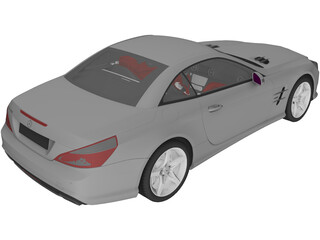 Mercedes-Benz SL350 (2013) 3D Model