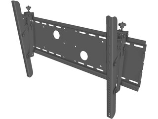 Tilting Television Wall Mount 3D Model