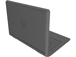 Dell Notebook 3D Model
