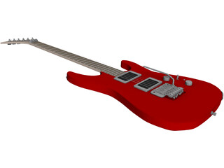 Guitar Electric Jackson DXMG 3D Model
