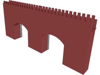 Archway Twin 3D Model