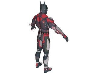 Batman Beyond X 3D Model